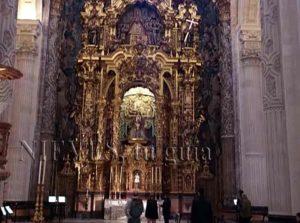 Retablo en la Iglesia del Salvador de Sevilla
