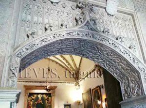 Magnifique palais voûté des Dueñas
