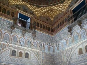 Hall of ambassadors of the Alcazar of Seville