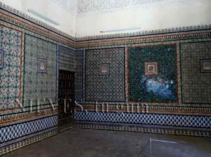 Magnificent tile room of the House of Pilate