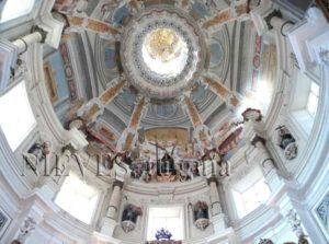 Dôme de l'église de San Luis de los Français à Séville