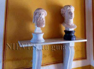 Esculturas Bustos de la Casa de Pilatos