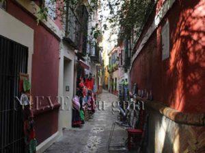 Calle típica del Barrio de Santa Cruz