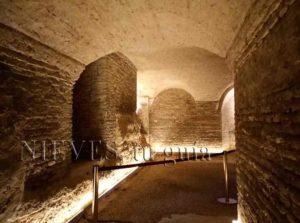 Cripta de la Iglesia de San Luis de los franceses en Sevilla