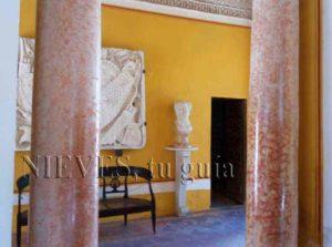 Detalles de exposiciones de la Casa de Pilatos