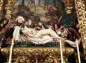 Cristo yacente Hospital de la Caridad
