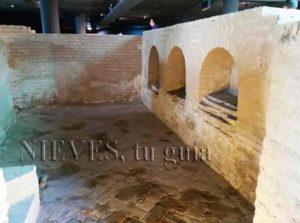 Ruinas del Castillo de San Jorge en Sevilla