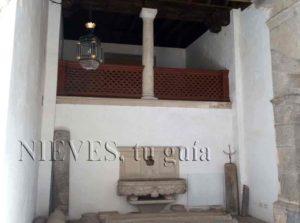 Détails intérieurs de la maison de Pilate