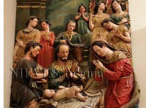 Reliefs de l'intérieur de l'église du Sauveur de Séville.