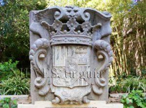 Escudo familiar Palacio de las Dueñas
