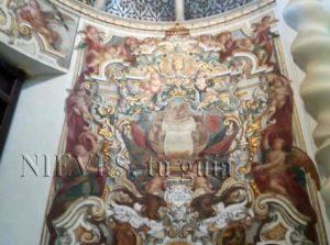 Frescos de la Iglesia de San Luis de los franceses en Sevilla