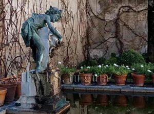 Fontaine de la maison de Pilate