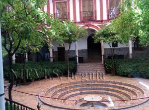 Hospital de los Venerables fountain in Seville