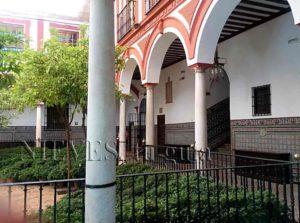 Gallery Hospital de los Venerables in Seville