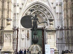 Giraldillo de la catedral de Sevilla