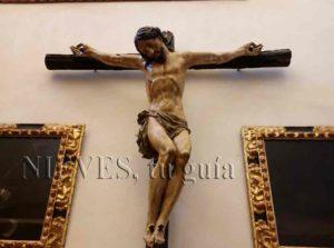 Cristo del interior de la Iglesia del Salvador de Sevilla