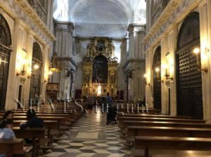 Interiors of the Cathedral of Seville