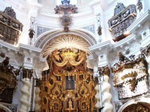 Intérieurs de l'église de San Luis des Français à Séville
