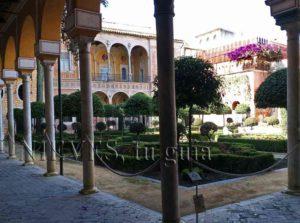 Jardins de la maison de Pilate