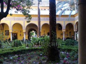 Patio Palacio de las Dueñas