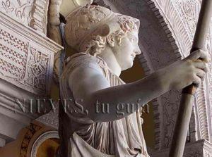Sculpture à la maison de Pilate