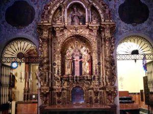 Santas Justa y Rufina en la Iglesia del Salvador de Sevilla