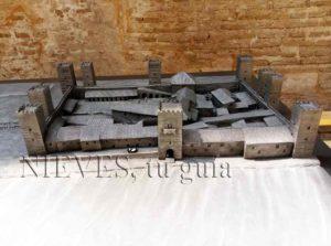Maquette du château de San Jorge