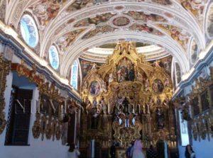 Retable de l'église de San Luis des Français à Séville