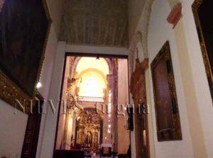 Vue intérieure de l'église du Sauveur de Séville
