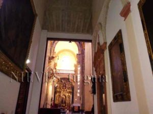 Vista interior de la Iglesia del Salvador de Sevilla