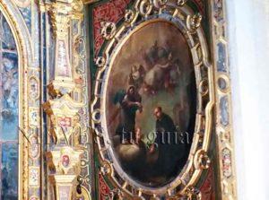 Peinture à l'huile de l'église de San Luis de los Francesa à Séville