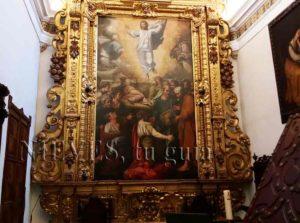 Magnifiques peintures à l'huile de l'église du Sauveur de Séville
