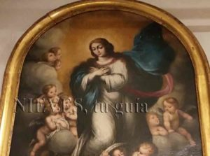Peintures à l'huile de l'église du Sauveur de Séville