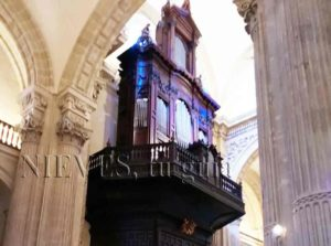 Musical organ of the Church of the Savior of Seville