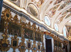 Pabellón de la Iglesia de San Luis de los franceses en Sevilla