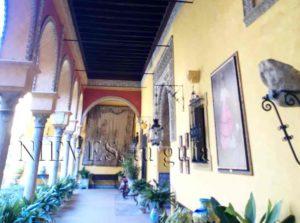 Patio interior Palacio de las Dueñas