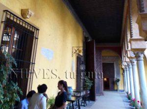 Patio intérieur Palacio de las Dueñas