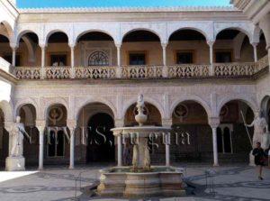 Cour de la fontaine de la maison de Pilate