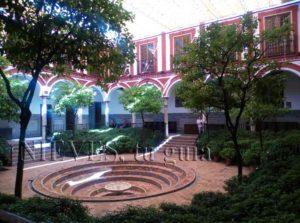 Patio of the Hospital de los Venerables in Seville