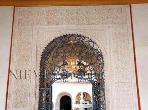 Magnifique porte d'accès Casa de Pilatos