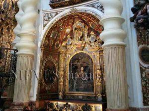 Reliquias de la Iglesia de San Luis de los franceses en Sevilla