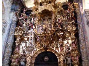 Retablo de la Iglesia del Salvador de Sevilla