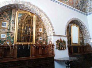 Sacristie de l'église de San Luis des Français à Séville