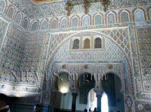 Sala en el Alcázar de Sevilla