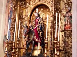 Imagen de Salvador en la Iglesia del Salvador de Sevilla