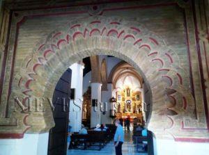 Interior de la Iglesia de Santa Catalina en Sevilla