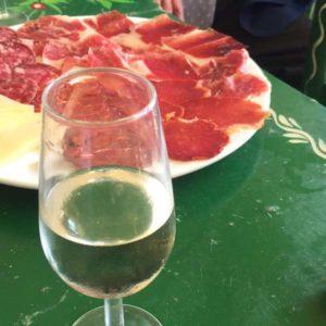 Tapa au jambon Serrano à Séville