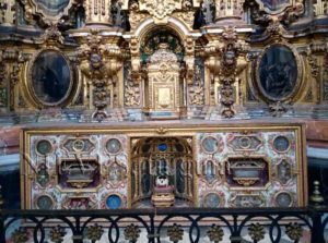 Altar and Treasures of the Church of San Luis of the French in Seville