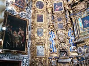 Tesoros de la Iglesia de San Luis de los franceses en Sevilla