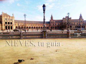 Plaza of Spain of Seville